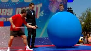Declan Donnelly's Pants Literally Blown Off In Hilarious Saturday Night Takeaway Game