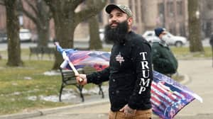 Only One Trump Supporter Turned Up At New York Capitol To Protest Biden Inauguration