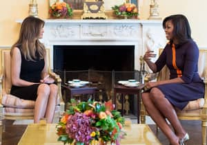 Here's The Conversation Michelle Obama Probably Had With Melania Trump