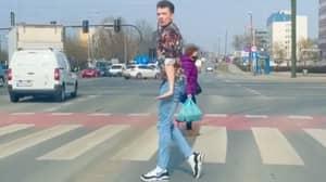 People Stunned At Man's Incredible Moonwalk Skills
