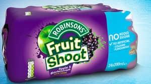 Robinsons Fruit Shoots Recalled From McDonald's, Tesco & Costco Due To Choking Hazard