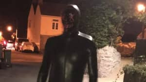 Residents Fear Man In Gimp Suit Who Terrorised Village Has Returned