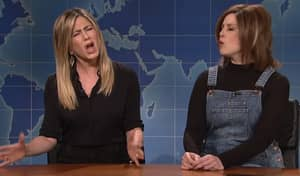 Jennifer Aniston Confronts SNL Comedian Impersonating Rachel Green