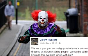 Clown Hunting Vigilantes Are Being Setup To Stop The Clowns