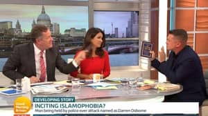 Piers Morgan And Tommy Robinson Get Into Heated Debate On 'Good Morning Britain'