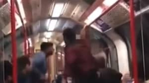 Tube Passengers Intervene After Man Threatens To 'Knock Woman Out'