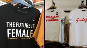 Tesco Branded 'Sexist' For 'The Future Is Female' T-Shirts