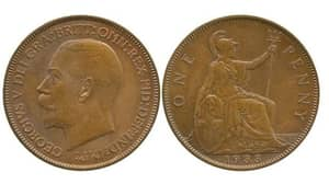 Extremely Rare One Pence Piece Auctioned Off For £72,000