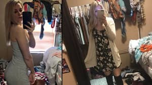 Girl Snaps Mirror Selfie But No One's Looking At Her