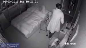 Shocking Footage Shows Thief Stealing From 90-Year-Old Woman With Alzheimer's