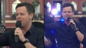 Dec Moves Saturday Night Takeaway Viewers To Tears With 'Message For Ant'
