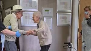 Married Couple Have Emotional Reunion After Becoming Residents At Same Care Home