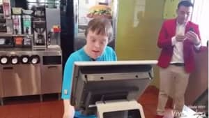 Woman With Down's Syndrome Retires With Heart Warming Party After 32 Years' Service At McDonald's