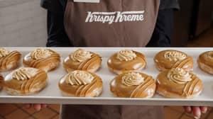 Krispy Kreme Teams Up With Biscoff To Release Two Heavenly Doughnuts In Australia