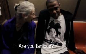 Throwback To When This Old Lady On The Subway Had No Clue Who Jay Z Was