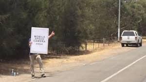 Christmas Hero Saves Speeding Drivers In Australia With Speed Camera Warning