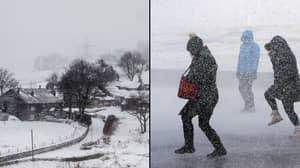 UK Forecast To Get Snow And Sub-Zero Temperatures Next Week