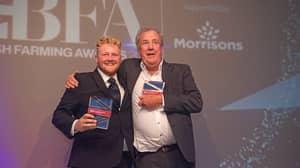 Jeremy Clarkson Thanks Kaleb Cooper As They Scoop Farming Award