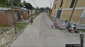 Google Maps: Man Pulls Gun On Google Street View Car In Shocking Footage