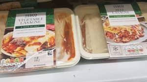 'Prankster' Claims He Swaps Packaging Sleeves On Meat And Veggie Lasagne For Fun