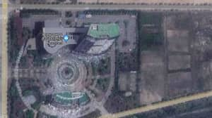 Exploded Building in North Korea Spotted On Google Maps