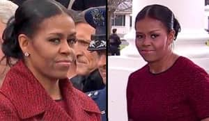 Michelle Obama's Face At The Inauguration Is Everything