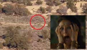 'Man-Like Monster' Caught On Camera Or It Could Just Be Edited - You Decide