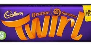 Cadbury Is Bringing Back Its Limited Edition Orange Twirl