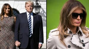 Conspiracy Theory Claims That A Body Double Is Being Used In Melania Trump's Place