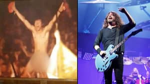 Dave Grohl Dedicates 'My Hero' To Naked Guy At Glastonbury