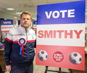Smithy Attracts Big Names To Support FIFA President Election Campaign For Sport Relief