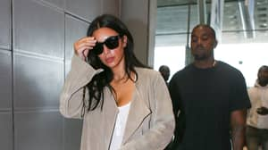 People Baffled By Kim Kardashian's Outfit To Kanye West's Album Listening Party