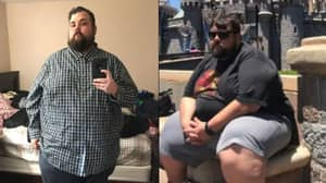 Man Shares 'Inspirational' Photos Showing 17st Weight Loss In Three Years