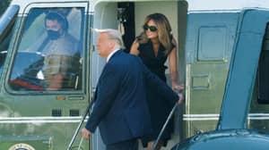 New Photo Reignites Melania Trump Body Double Conspiracy Theory