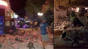 Huge Earthquake Hits Turkish And Greek Holiday Resorts Triggering A Tsunami