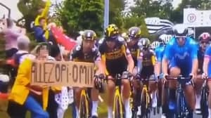 Woman Taken Into Police Custody In Connection With Huge Tour de France Crash