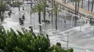 Tourist Reportedly Killed In 'Mini Tsunami' That Hit Majorca And Menorca