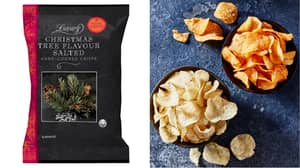 Iceland Launches Christmas Tree Crisps And We're All Confused