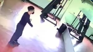 Man Runs Out Of Gym In Fear After 'Ghost' Drags Him Across Floor