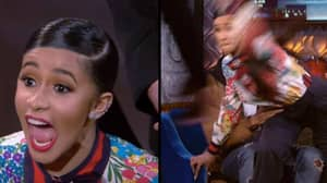 Clip Of Cardi B Throwing A Shoe Resurfaces After Her Brawl With Nicki Minaj