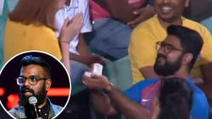 Romesh Ranganathan Says He Spent A Day Explaining Cricket Kissing Photo To Wife