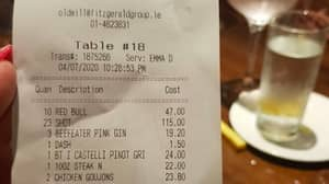 Group Of Four Rack Up €265 Bill In Less Than Two Hours As Pubs Reopen