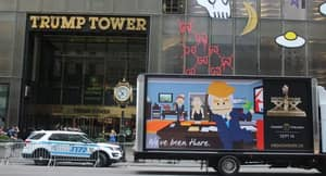 South Park Is Trolling Trump, Scientology and The White House In Real Life
