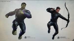 Avenger's 4 Title And Superhero Costume Artwork Leaked