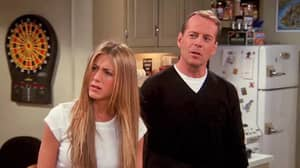 How Did We Never Notice This Odd Thing About Bruce Willis's Cameo In Friends?