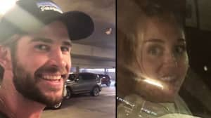 Liam Hemsworth Pranks Fiancée Miley Cyrus Once Again As She Sits In Car Park