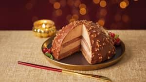 Aldi Launch Huge Chocolate and Praline Dessert For £5.99