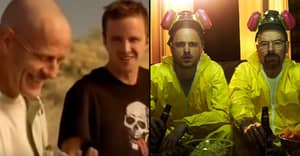 'Breaking Bad' Outtakes Show Amazing Bromance Between Aaron Paul And Bryan Cranston
