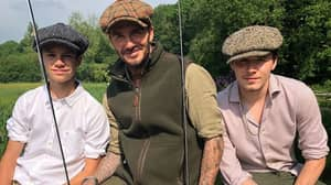​David Beckham Shares Photos Of LADs' Day Out Fishing