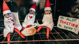 Dad Accidentally Incinerates Elf On The Shelf In The Oven